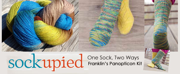 franklin sock knitting kit