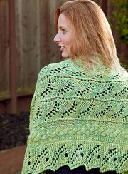 tanis gray lace shawl