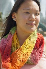 rainbow cowl tanis