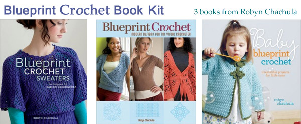 blueprint crochet book kit