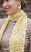 eyelet scarf