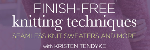 finish free knits DVD banner