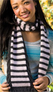 forever striped scarf