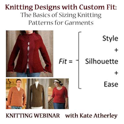 knitting with custom fit webinar