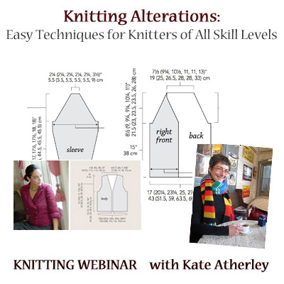 knitting alterations webinar