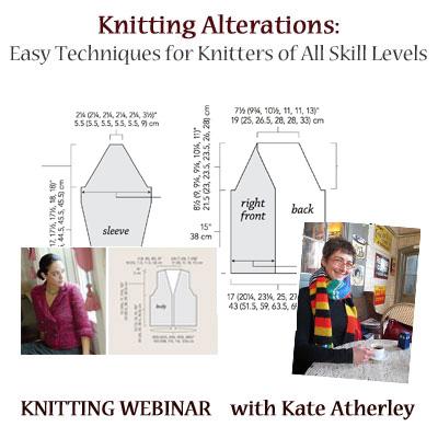knitting alterations webinar