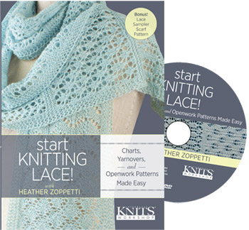 start lace knitting lace