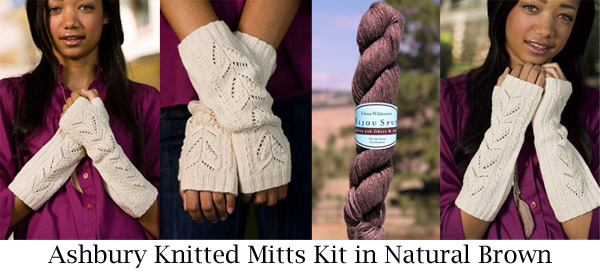 natural brown ashbury mitts kit