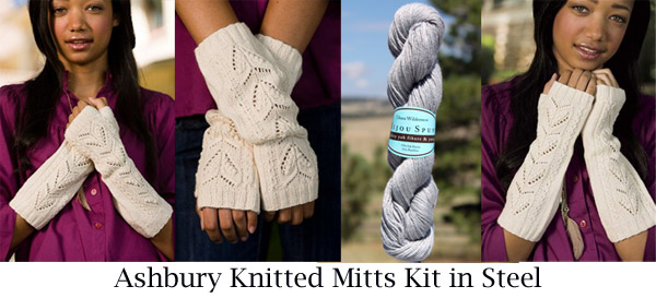 steel ashbury mitts kit