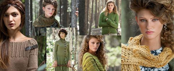 woods knitscene