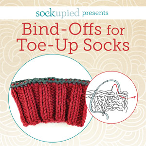 bind-offs for toe-up socks