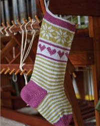 holiday berry stocking