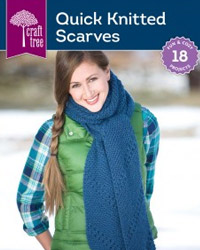 quick knitted scarves
