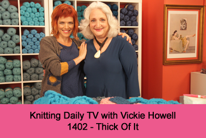 Knitting Daily TV Episode 1206-Creatures of Habit