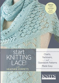 lace knitting DVD