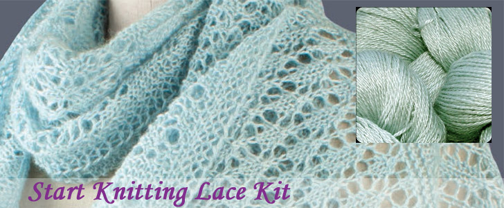 start knitting lace kit