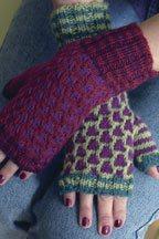 mosaic mitts