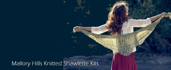 mallory shawl kit