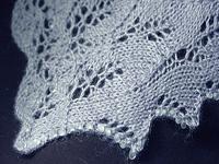 knitting with beads shawl