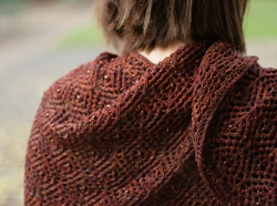 knit with beads shawl