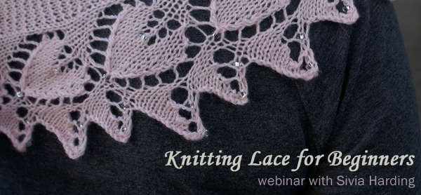 lace knitting webinar