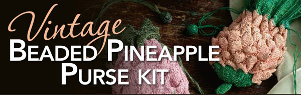 beaded pineapple bag kit