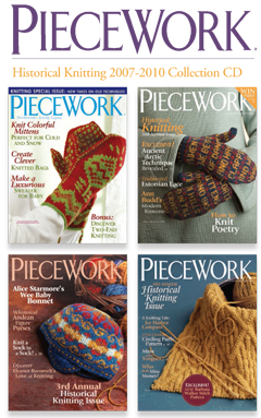 piecework 2007-2010 historical knitting