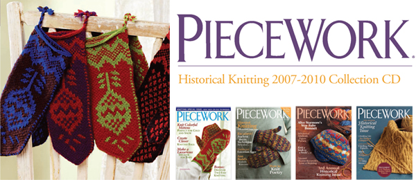 piecework historical knitting CD