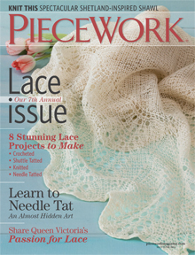 piecework lace issue