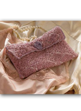 Knitted Lacy Bag for Lingerie Pattern