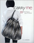 Carry Me showcases the unique design sensibility and clever projects captured in Japanese craft books with 20 handbags featuring clever construction, unique details, and simple sewing techniques.