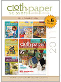 2011 Cloth Paper Scissors Magazine CD Collection