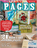 Book and Art Journaling Ideas: Summer 2013 issue of Pages