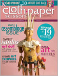 The Art of Assemblage Issue: Cloth Paper Scissors Sept/Oct 2012