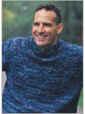 Men's sweater patterns: Saddles At Dusk