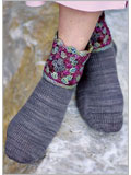 Crochet Socks Pattern: Granddaughter Socks