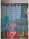 Filet Crochet Curtain Patterns