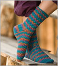 Crochet Sock Pattern: Adirondack Socks