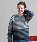 Sweater patterns for men: Surf Stripes Raglan