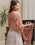 Crochet Flowers Patterns: Bouquet Stole