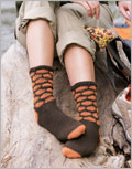Crochet Sock Patterns: Honeycomb Socks