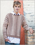 Knitted sweaters for men: Barclay Sweater