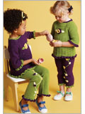 Crochet Patterns for Children: Hannah and Hallie Play Sets