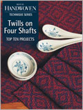Twills on Four Shafts