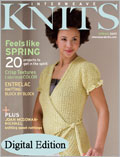 Interweave Knits Spring 2007 - With Full Entrelac Tutorial
