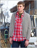 Men's sweater patterns: East Hale Cardigan