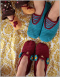 Crochet Slipper Pattern: A Family of Slippers