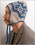 Men's knit hat pattern: Whitman Cap
