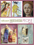 Mixed Media Assemblage Art: Mixed Media People Part 2