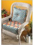 Custom Chair Cushion and Pillow